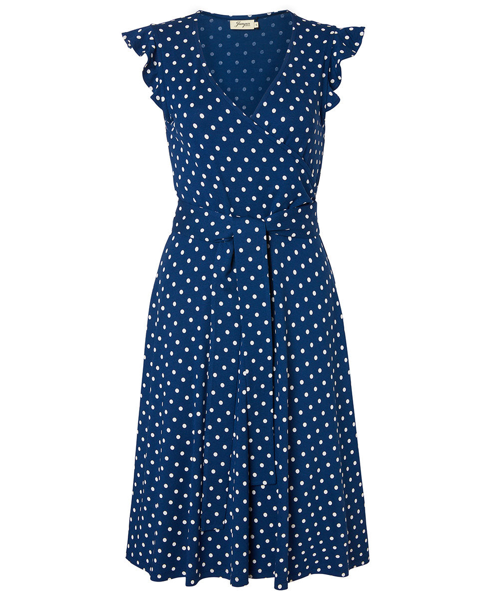 Jumper Fabriken - Kleid Boel Dot Blue