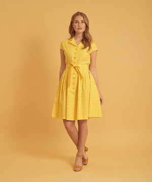 Jumper Fabriken - Kleid Freddie Yellow