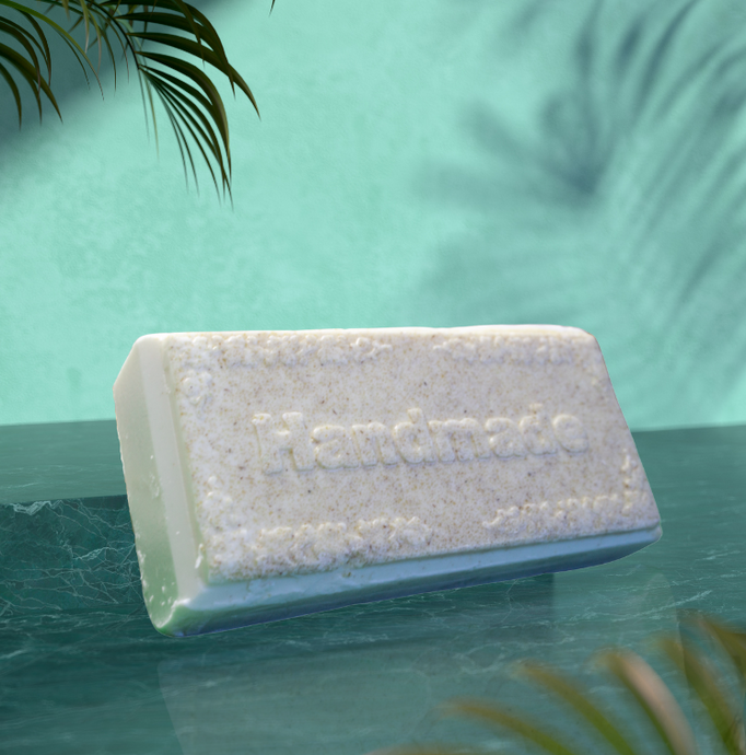 Handmade Oatmeal Facial Soap - NBI All Natural