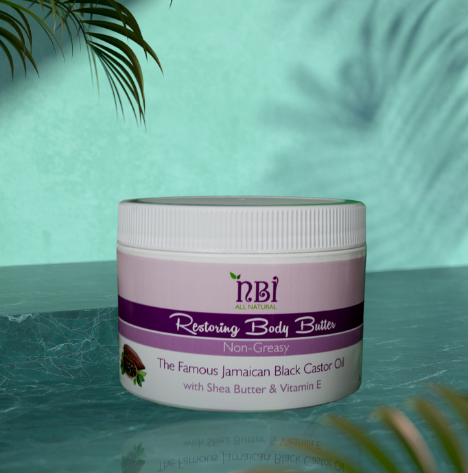 Restoring Body Butter - With Reparing Oils, Organic Butters and Vitamin E - NBI All Natural