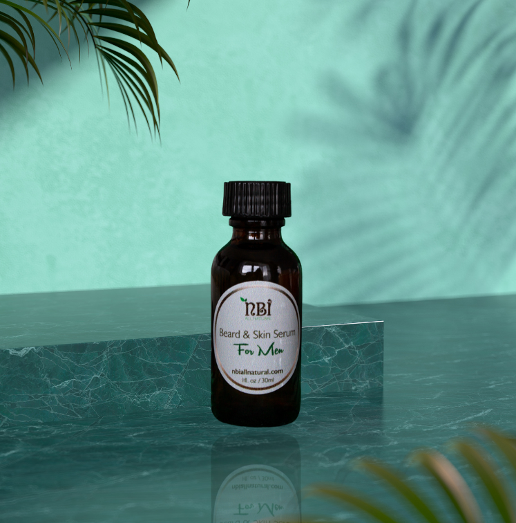 Men's Beard and Skin Serum - NBI All Natural
