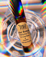 Load image into Gallery viewer, Amber Romance Perfume Oil - Unique Blend of Oils - NBI All Natural