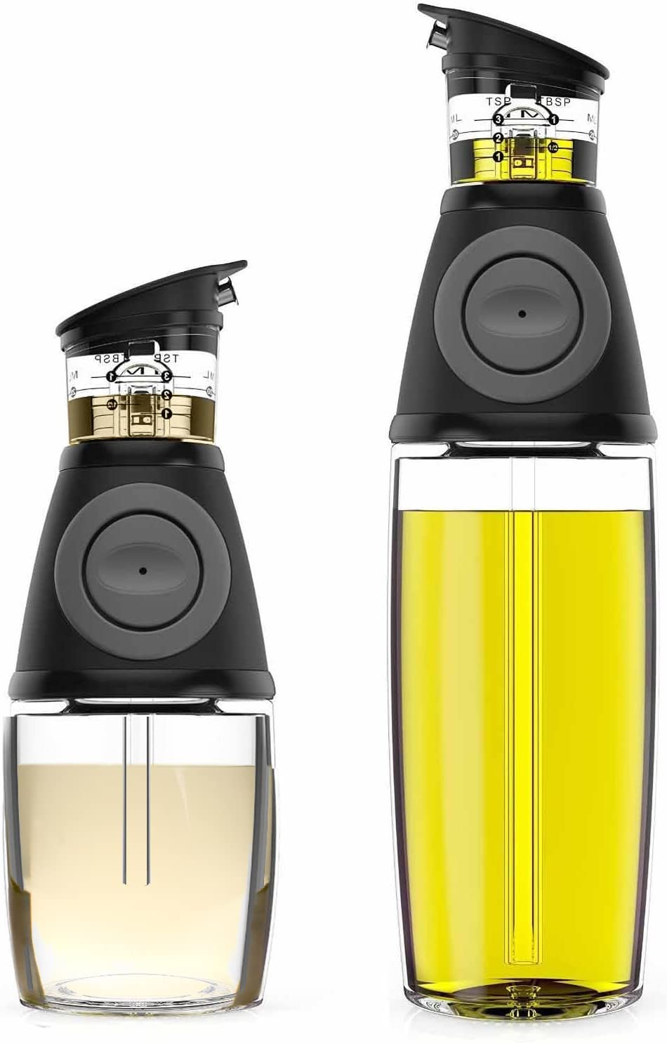 Oil & Vinegar Dispenser Set with Drip-Free Sprouts