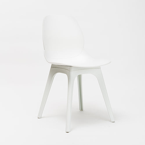 Silla Shelly blanca