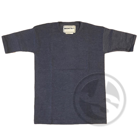Thermoshirt Navy Shortsleeve