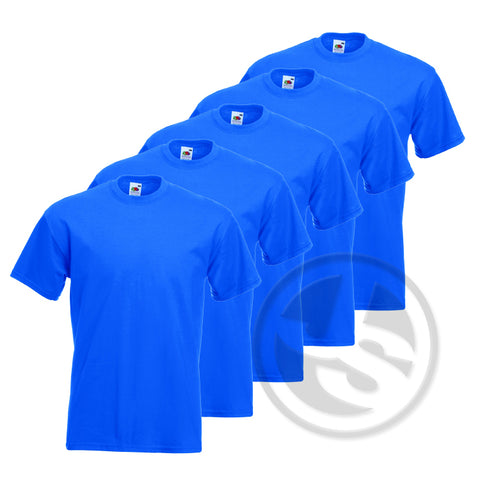 T-Shirt 5-Pack - Korenblauw
