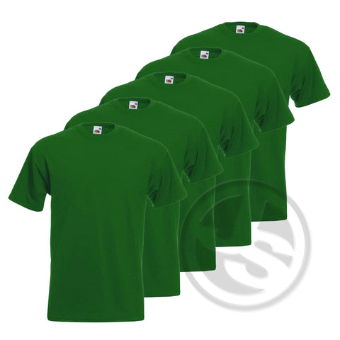 T-Shirt 5-Pack - Groen