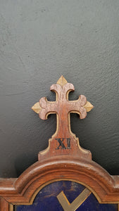 Antique station of the cross XI. Jesus nailed to the Cross