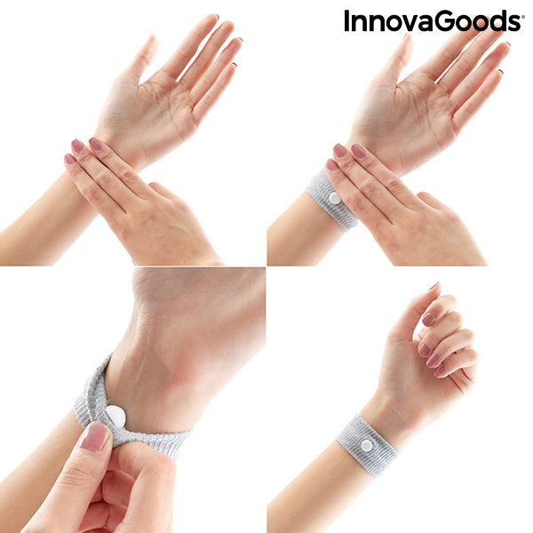 Anti-nausea bracelet with Nei-Kuan Pressure Point Nona InnovaGoods (Pack of 2)