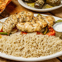 Exotic Chicken Souvlaki
