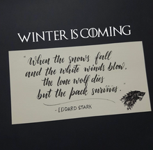 Load image into Gallery viewer, Game of Thrones themed letters