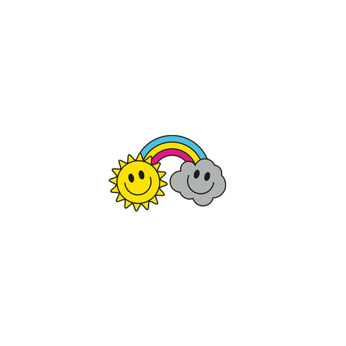 Rainbow/Happiness pin
