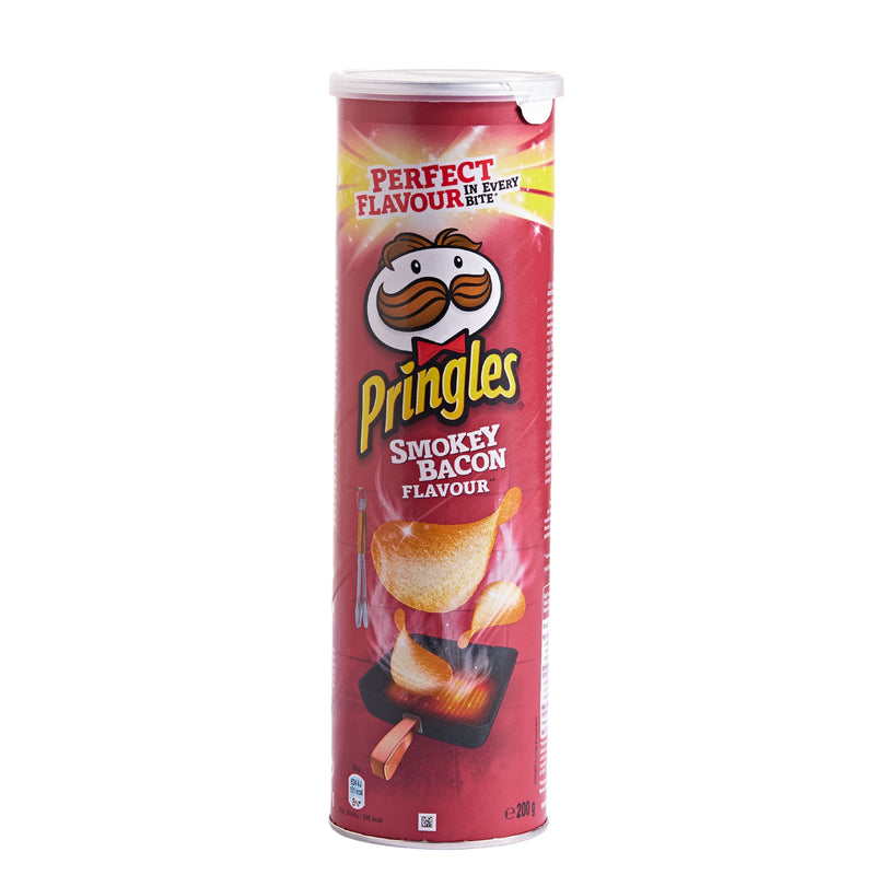 Pringles Smokey Bacon Crisps 200g