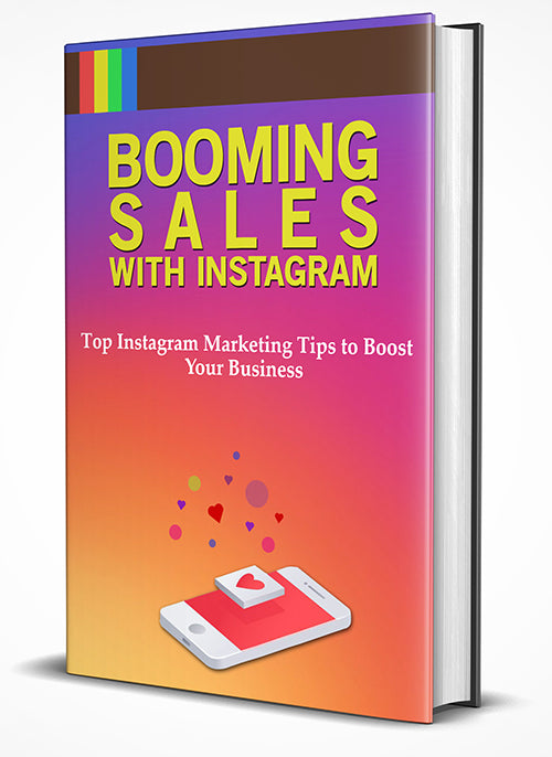 Booming Sales With Instagram (E-Book)