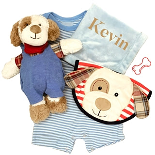 Doggy Baby Boy Set