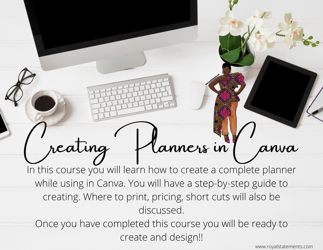 Creating Planners In Canva Class