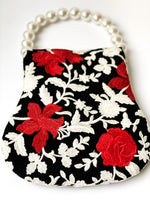 Exclusive Iris embroidered bag