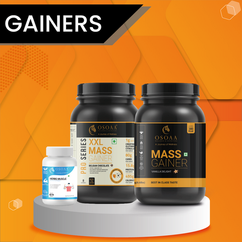 WHY CHOOSE OSOAA MASS GAINER