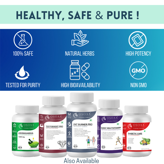 OSOAA Pro French Vanilla 1Kg Whey Protein Concentrate with Vit C, D & Zinc