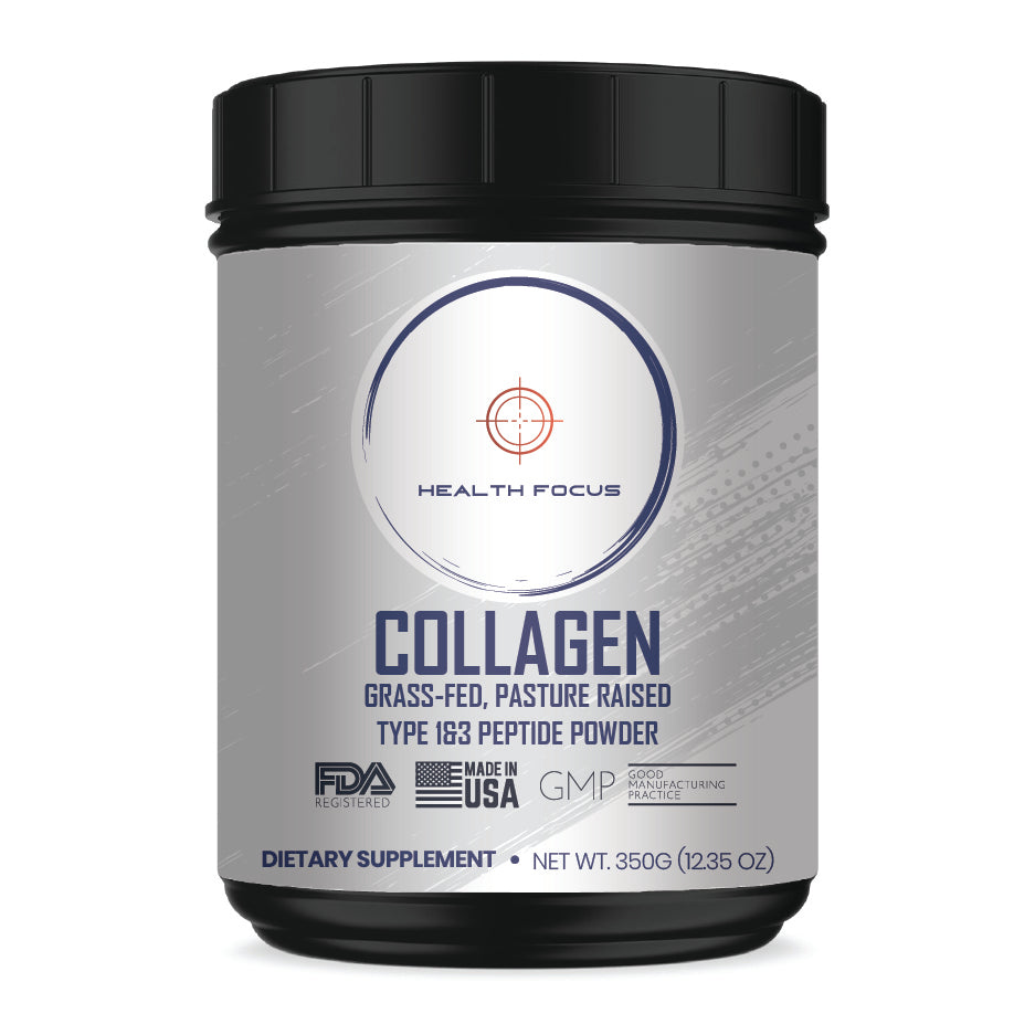 Collagen: Grass-Fed, Pasture Raised Type 1&3 Peptide Powder