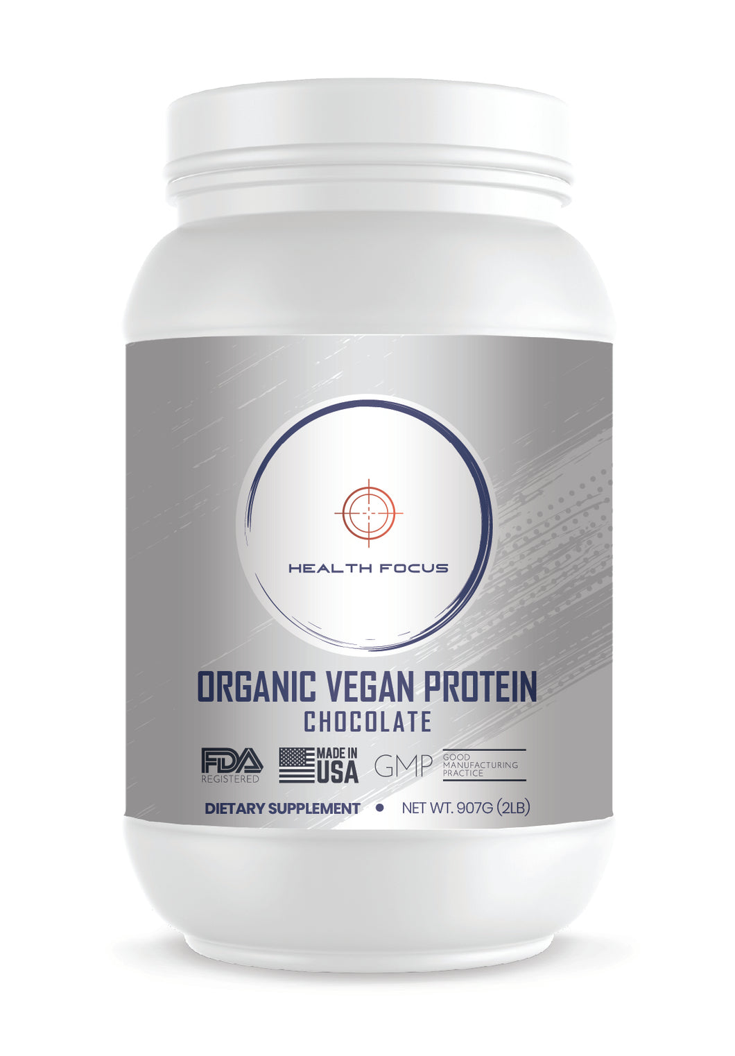 Organic Vegan Protein-Chocolate