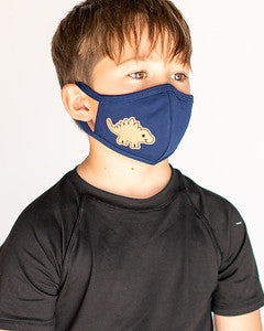 Youth Stegosaurus Cloth Face Covering