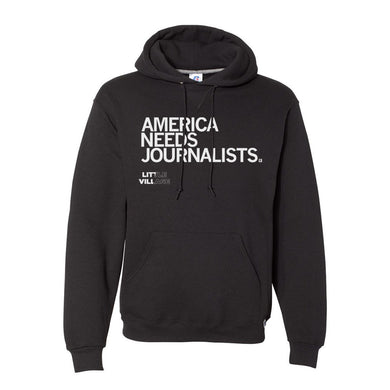 America Needs Journalists - LV Hooded Sweatshirt