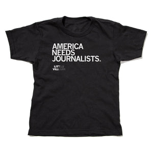 America Needs Journalists - LV Kids Shirt