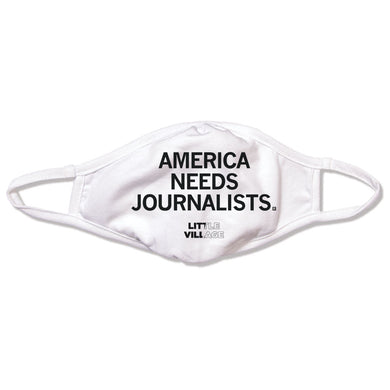 America Needs Journalists - LV Face Mask