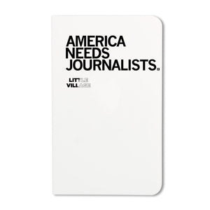 America Needs Journalists - LV Notebook