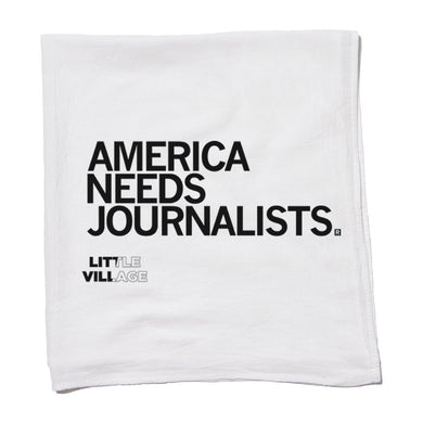 America Needs Journalists - LV Kitchen Towel