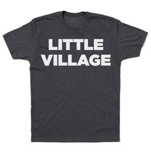 Little Village Logo Shirt - Charcoal