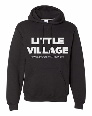 Little Village 'News & Culture' Logo Hooded Sweatshirt