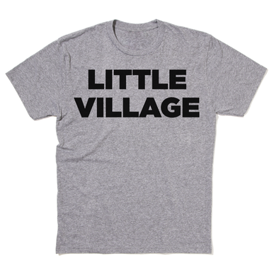 Little Village Logo Shirt - Prem. Heather