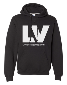 LV Logo Hooded Sweatshirt