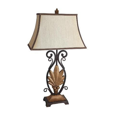 Ivory Gold Lamp P22