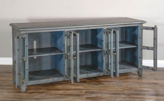 Little Blue Boy Tv Console