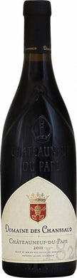 Chanssaud chateauneuf du Pape rouge wijnfles