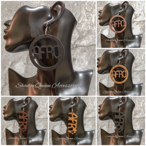 """Afro"" Earrings"