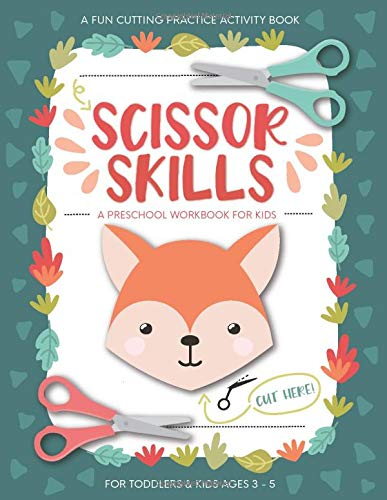 Scissor Skills Preschool Workbook