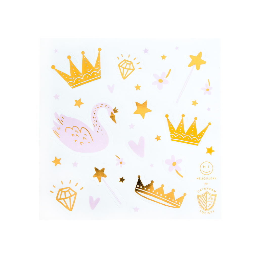Sweet Princess Sticker Set - 4 Pk.