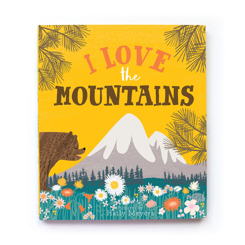 I Love the Mountains Book