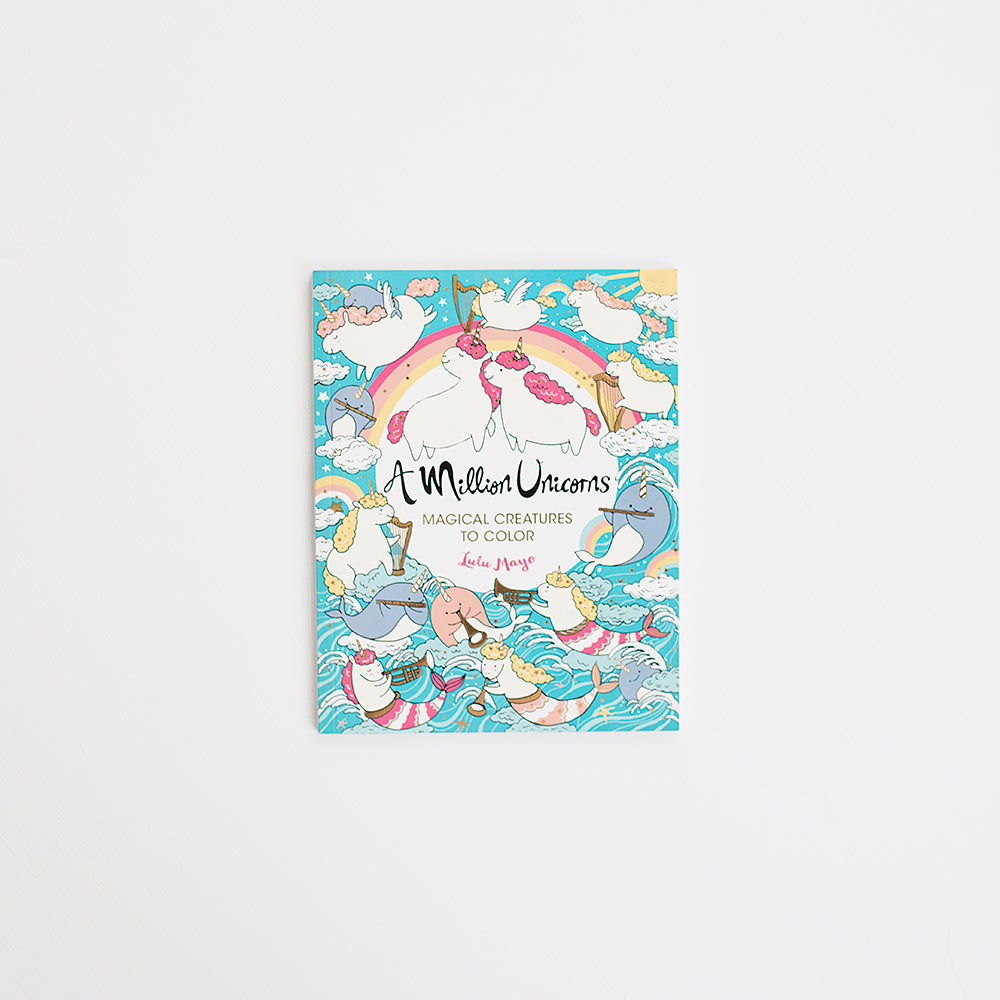 Million Unicorns Coloring Book