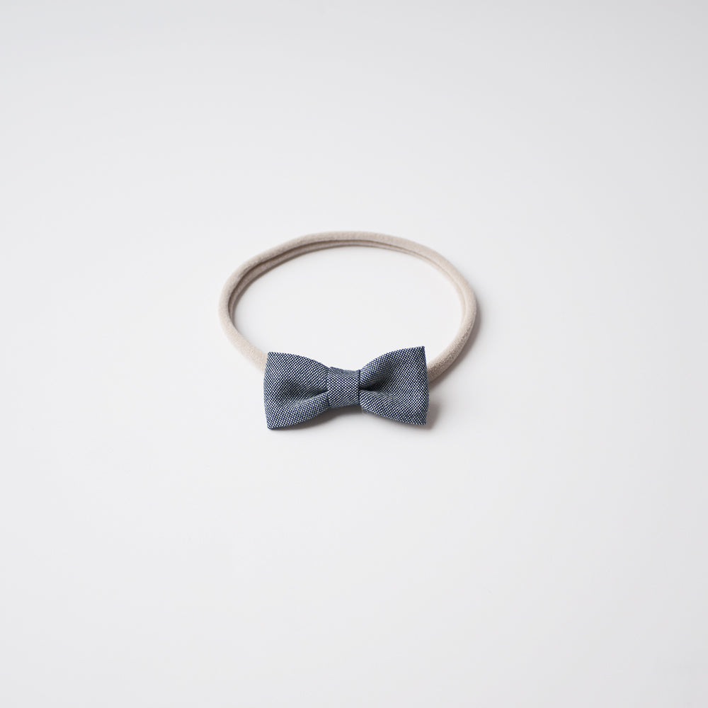 Chambray | Mini Bow
