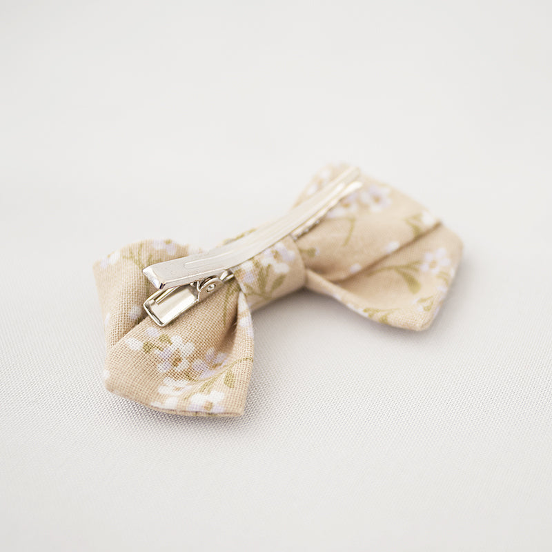 Lace in Champagne | Petite Sailor Bow