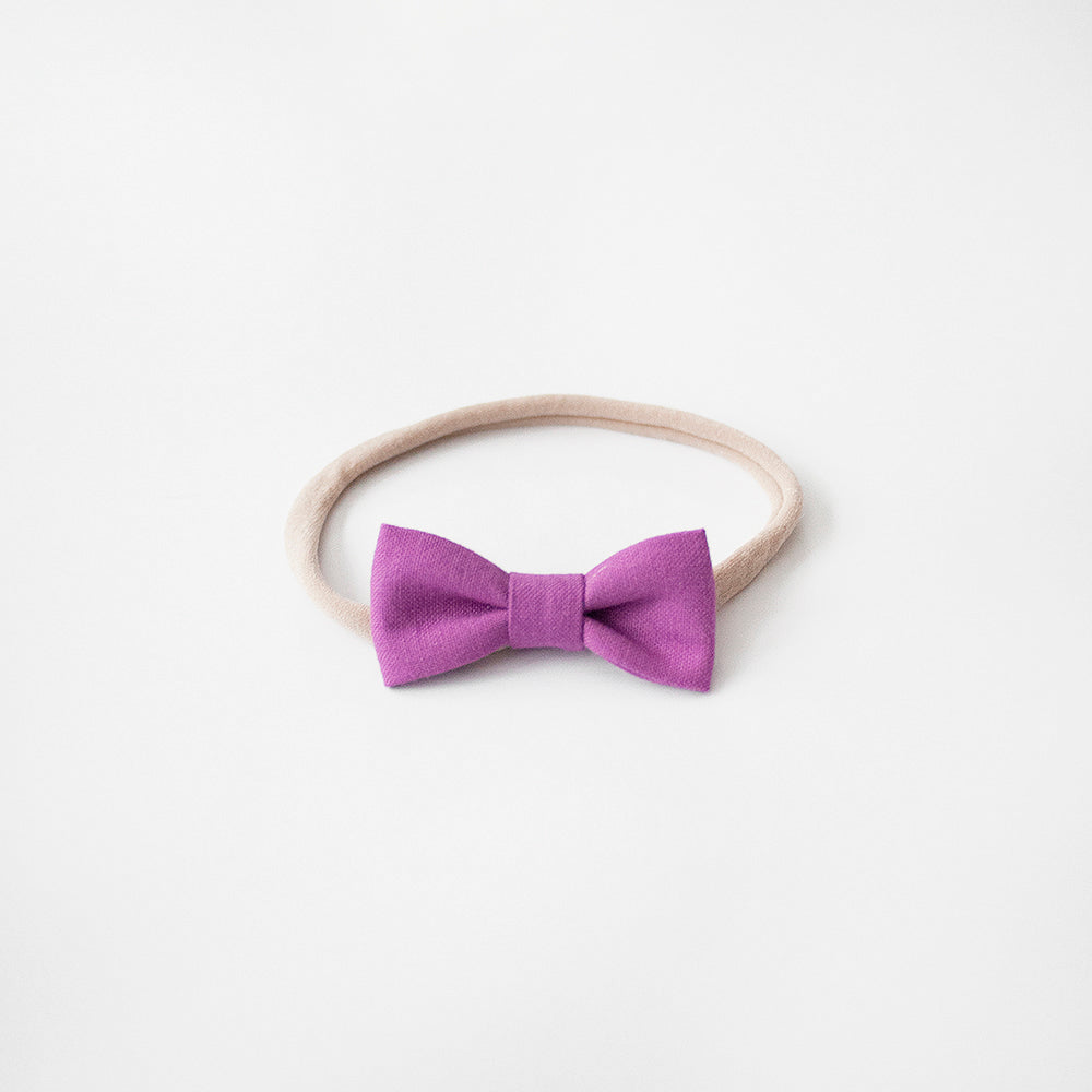 Wild Orchid | Mini Bow