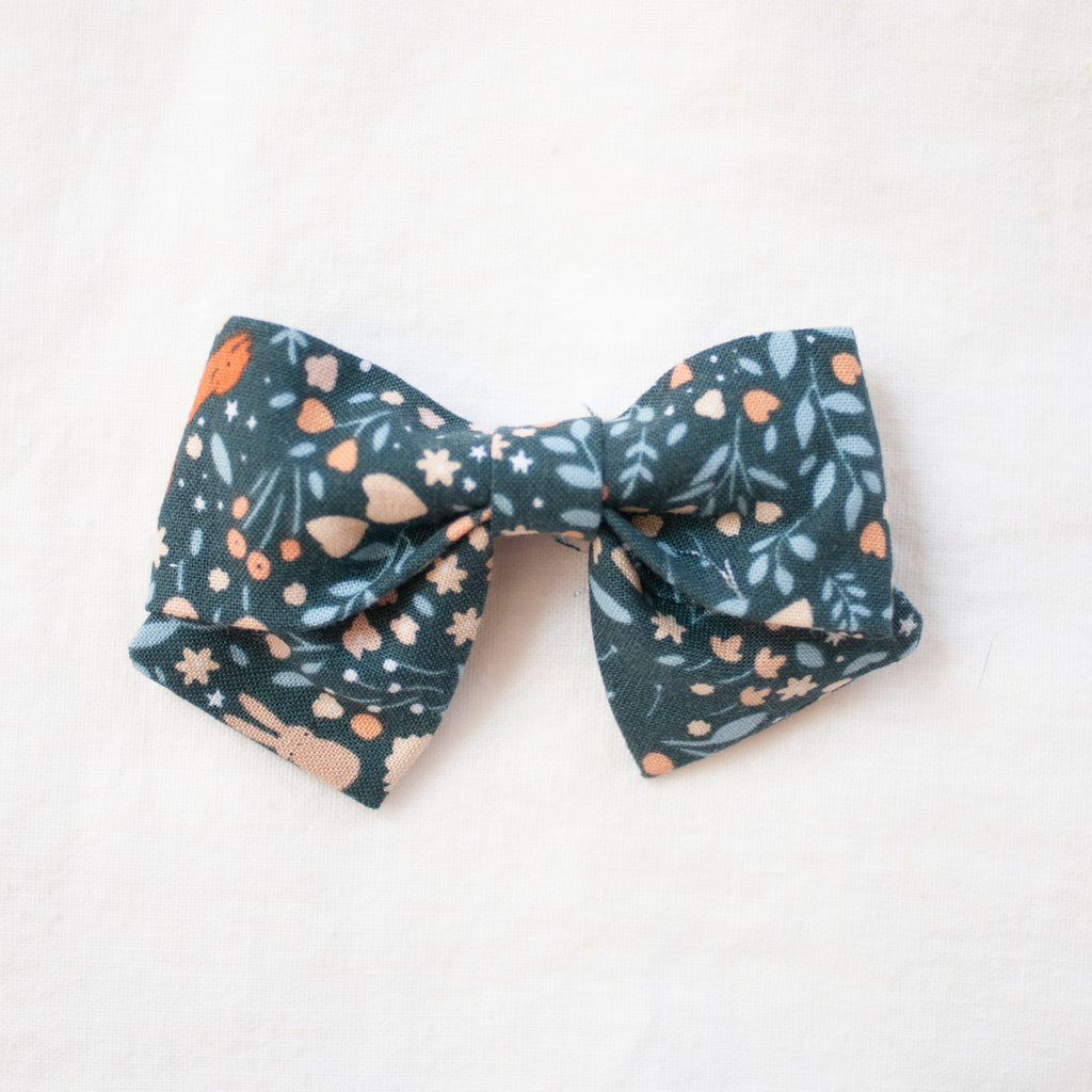 Woodland Frolic | Medium Sailor Bow