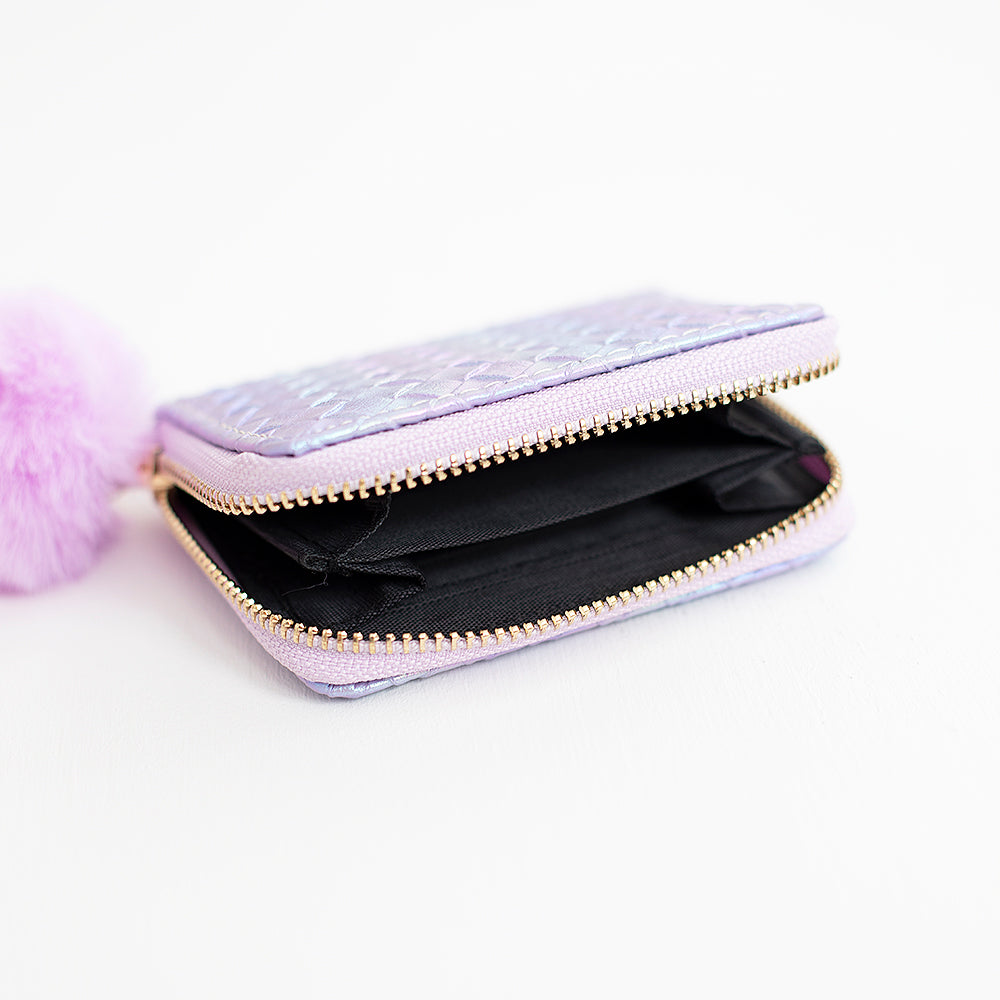Shiny Star Wallet- Pink