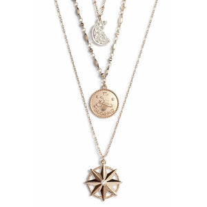 Astrological Charm Necklace - Scorpio
