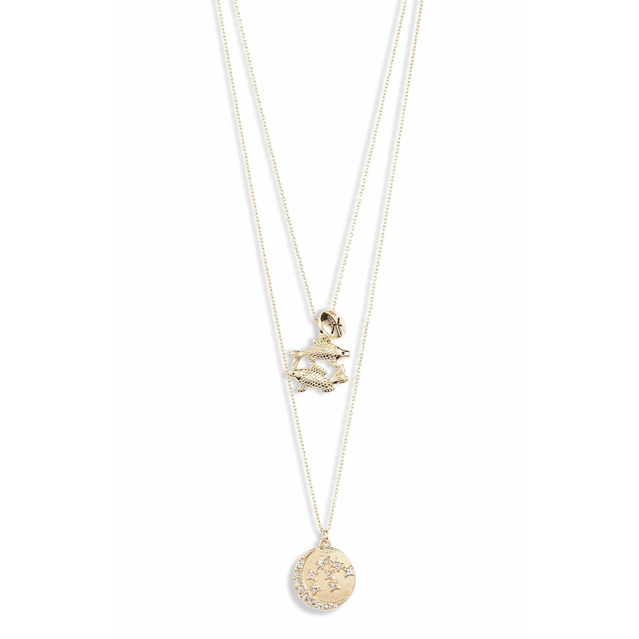 Astrological Charm Necklace - Pisces